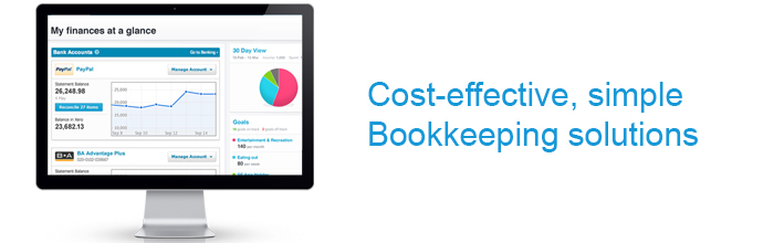 Cost effective, simple bookkeeping solutions